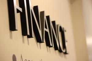 Finance sign
